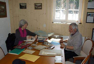 Viel zu tun: Christian und Eva Bärtschi-Johner